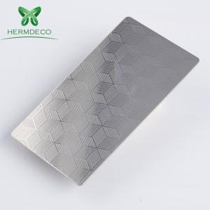 China Top Tien verkopende producten Ba In reliëf gesinterde RVS Filter Plate Voor Cabin-HM-029