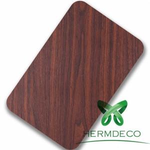 Foshan Lamination Finish Wood Quality Stainless Steel Sheet-HM-078
