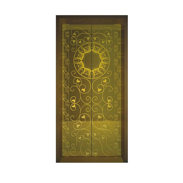 stainless steel elevator door