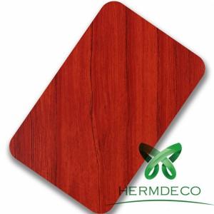 Patrón Vermello Sus304 laminado de aceiro Sheet-HM-082