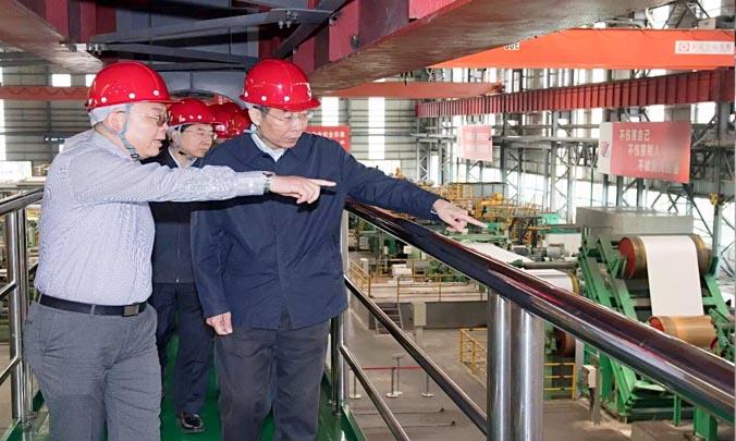 Mr. Quan You, the Secretary of Fujian Provincial Party Committee visited Fujian Hongwang