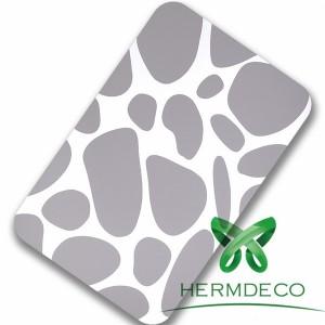 Hot Selling Free Sample 304L 316 Stainless Steel Sheet Laminating Pattern-HM-024