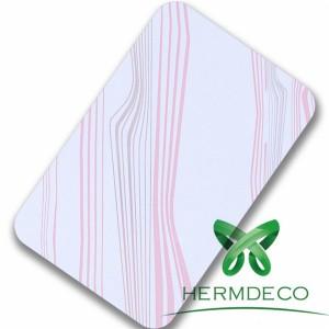 Line Pattern White Lamination meshgalvanized mihasebeya-HM-060