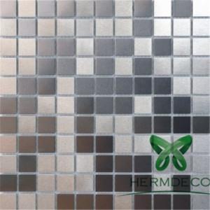 أفضل بيع الفسيفساء الفولاذ المقاوم للصدأ SheetPlate للديكور-HM-MS002