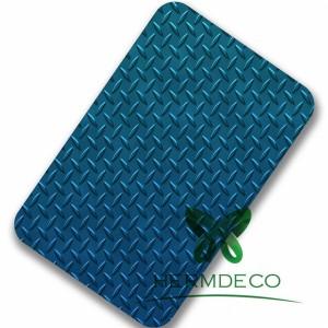 2B kostkovaný ASTM A240 Standardní Stainless Steel 304 Sheet-HM-CK002