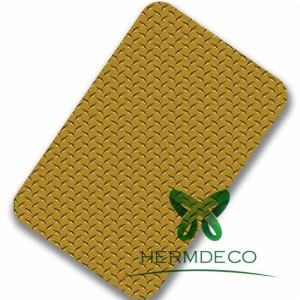 Mirror Finish Aluminum Sheet Stainless Steel Sheet Price Sus304 Antiskid Aluminum Checker-HM-CK005