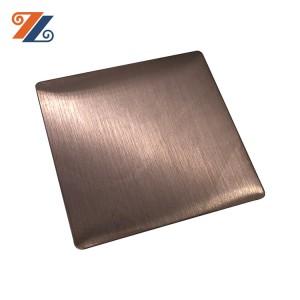 وردة نوع الفولاذ المقاوم للصدأ صفائح الفولاذ المقاوم للصدأ العلامة التجارية hongwang شعبية في سوق الشرق الأوسط