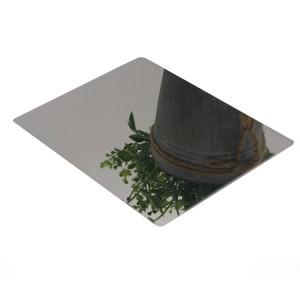 Stainless Steel Super Mirror SUS 304 430 410 316 439 409 441 444 Acero Inoxidable Sheet Stainless Steel Mirror Sheet