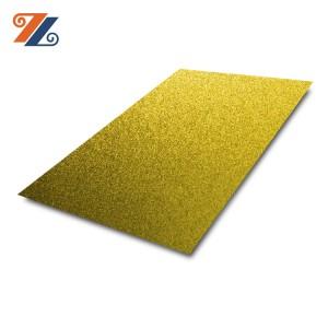 Inbox 304 1mm Bead Blasted Anti Fingerprint Color Coating 304 Stainless Steel Price Per Kg for Living Room Wall Panels