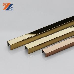 decorative wall trim supplier hongwang 304 316 stainless steel trim strip