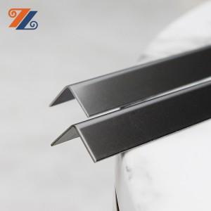 201 304 decorative mirror gold stainless steel floor trim stainless steel tile edge trim