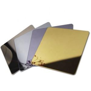 201 304 316 430 flat metal mirror finished stainless steel sheet design stainless steel sheet fabrication