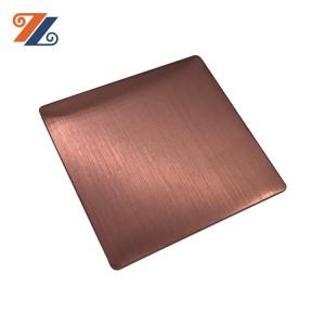 201 J1 J2 brush hairline satin finish stainless steel sheet for building material