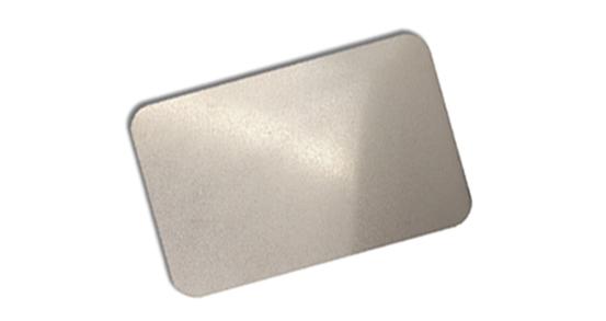Stainless steel sandblast plate