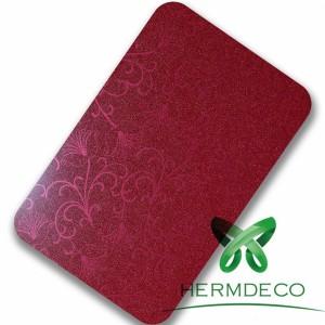 China Distributer Carbon Fiber 4X8 Laminated Sheet Stainless Steel Sheet Price Per Kg-HM-038