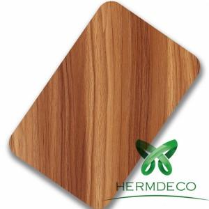 Lamination Finish Wood Quality Stainless Steel Sheet Foshan-HM-079