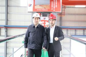 Zheng Hong, vice chairman of anhui CPPCC visited Hongwang, Fujian province