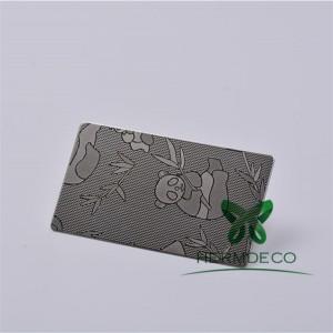 Building Embossed 304 Stainless Steel Metal Sheet-HM-036