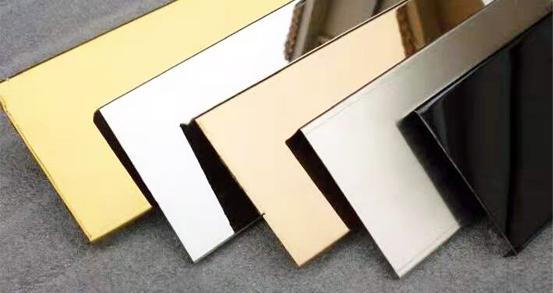 Stainless steel color plate decoration five advantages